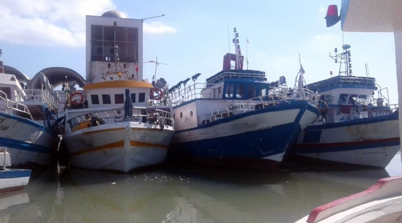barques de pêche en Tunisie